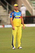 Matthew Hayden of the Chennai Super Kings during the Superkings training session held at St Georges Park in Port Elizabeth on the 20 September 2010..Photo by: Shaun Roy/SPORTZPICS/CLT20