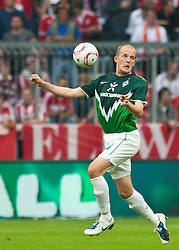 11.09.2010, Allianz Arena, München, GER, 1. FBL, FC Bayern München vs Werder Bremen, im Bild Petri Pasanen, (Werder Bremen, #3), EXPA Pictures © 2010, PhotoCredit: EXPA/ J. Feichter