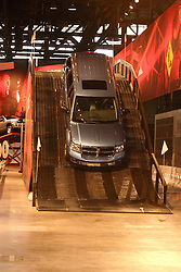 08 February 2007: 2007 Dodge Durango negotiating steep descent on test track. The Chicago Auto Show is a charity event of the Chicago Automobile Trade Association (CATA) and is held annually at McCormick Place in Chicago Illinois.