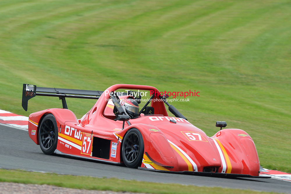 #57 Brian MURPHY SR3 RSX during Radical Sprint Championship as part of the MSVR Oulton Park  20th June 2015 at Oulton Park, Little Budworth, Cheshire, United Kingdom. June 20 2015. World Copyright Taylor/PSP. Copy of publication required for printed pictures.  Every used picture is fee-liable. http://archive.petertaylor-photographic.co.uk