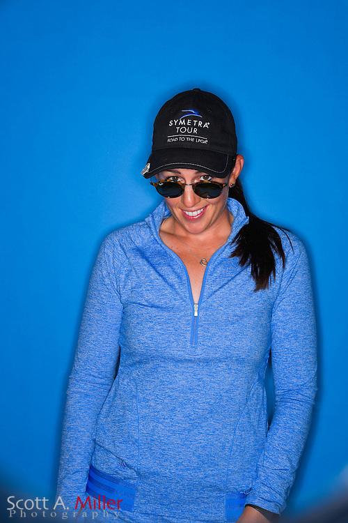 Emma Jandel during a portrait session prior to the Symetra Tour's Guardian Retirement Championship  on April 19, 2016 in Sarasota, Florida.<br /> <br /> &copy;2016 Scott A. Miller