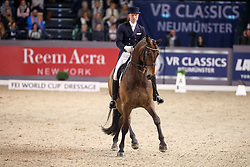 Giebelmann Jan-Dirk, (GER), Real Dancer FRH<br /> FEI World Cup Dressage Grand Prix Freestyle<br /> FEI World Cup Neumünster - VR Classics 2017<br /> © Hippo Foto - Stefan Lafrentz