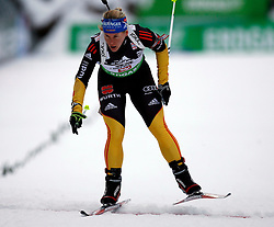 16.12.2011, Biathlonzentrum, Hochfilzen, AUT, E.ON IBU Weltcup, 3. Biathlon, Hochfilzen, Sprint Frauen, im Bild Nadine Horchler (GER) // during Sprint women E.ON IBU World Cup 3th Biathlon, Hochfilzen, Austria on 2011/12/16. EXPA Pictures © 2011, PhotoCredit: EXPA/ Oskar Hoeher