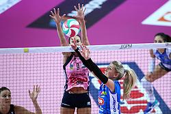 05-11-2016 ITA: Igor Gorgonzola Novara - Pomi Casalmaggiore, Novara<br /> Novara verliest met 3-1 van Casalmaggiore / Laura Dijkema #14<br /> <br /> ***NETHERLANDS ONLY***