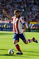 Atletico de Madrid´s Koke during 2014-15 La Liga match between Atletico de Madrid and FC Barcelona at Vicente Calderon stadium in Madrid, Spain. May 17, 2015. (ALTERPHOTOS/Luis Fernandez)