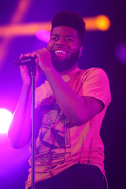 Khalid performs at the 2017 BET Experience at The Staples Center on Friday June 23, 2017, in Los Angeles. (Photo by Willy Sanjuan/Invision/AP)