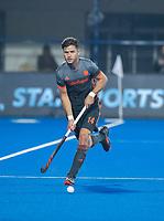 BHUBANESWAR, INDIA - Robbert Kemperman (Ned)  tijdens   de  finale tussen België en Nederland (0-0) bij het WK Hockey heren in het Kalinga Stadion. Belgie wint na shoot-outs. COPYRIGHT KOEN SUYK