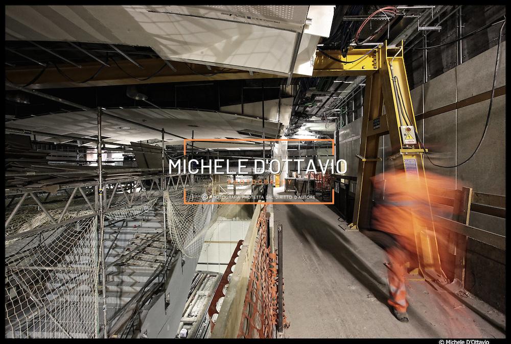 Cantieri metropolitana automatica di Torino, avanzamento dei lavori  Stazione Nizza