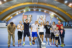 Tennis Exhibition and Slovenian Tennis personality of the year 2014 annual awards presented by Slovene Tennis Association TZS , on December 6, 2014 in Millenium Centre, BTC, Ljubljana, Slovenia. Photo by Vid Ponikvar / Sportida