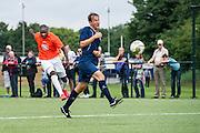 Foto: Gerrit de Heus. Driehuis. 14-07-2015. Telstar-Elftal VVCS. Jeremias Carlos David (L) maakt de 0-2.