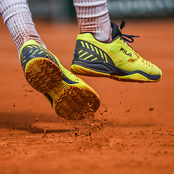 Illustration picture of the clay during Day 4 for the French Open 2018 on May 30, 2018 in Paris, France. (Photo by Anthony Dibon/Icon Sport)
