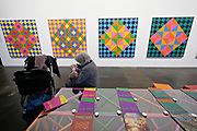 Kassel, Germany. Opening days of documenta14.<br /> Neue Neue Galerie.<br /> Rasheed Armeen: The Reading Room, 2016-17