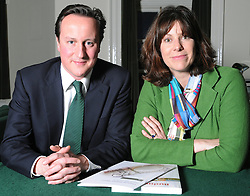 Leader of the Conservative Party David Cameron with Claire Perry.Member of Parliament for Devizes. in his office in Norman Shaw South, January 18, 2010. Photo By Andrew Parsons / i-Images.<br /> File Photo - Claire Perry says politicians have 'out of touch sense of entitlement' .<br /> David Cameron's advisor on child abuse has lashed out at the Westminster 'chumocracy' that has protected itself from allegations of paedophilia. Photo filed Friday 11 July 2014.