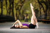 Dance As Art The New York City Photography Project Central Park Series with dancer Mariana Perez