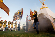 September 30, 2011: Action during a game between the Lebanon Yellow Jackets and the Kickapoo Chiefs at Kickapoo High School in Springfield, Missouri. Photo by: David Welker/ Turfimages.com