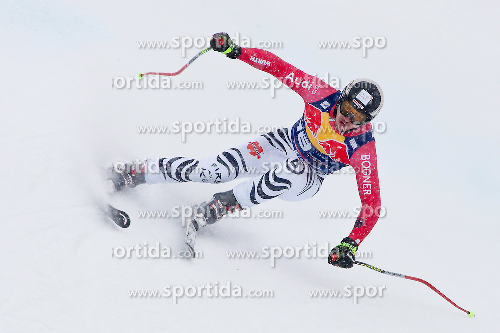 20.01.2011, Hahnenkamm, Kitzbuehel, AUT, FIS World Cup Ski Alpin, Men, Training, im Bild Tobias Stechert (GER) speeds down the course during the official training run for the 2011 Hahnenkamm Downhill race part of  Audi FIS World Cup races in Kitzbuhel Austria. EXPA Pictures © 2011, PhotoCredit: EXPA/ M. Gunn .