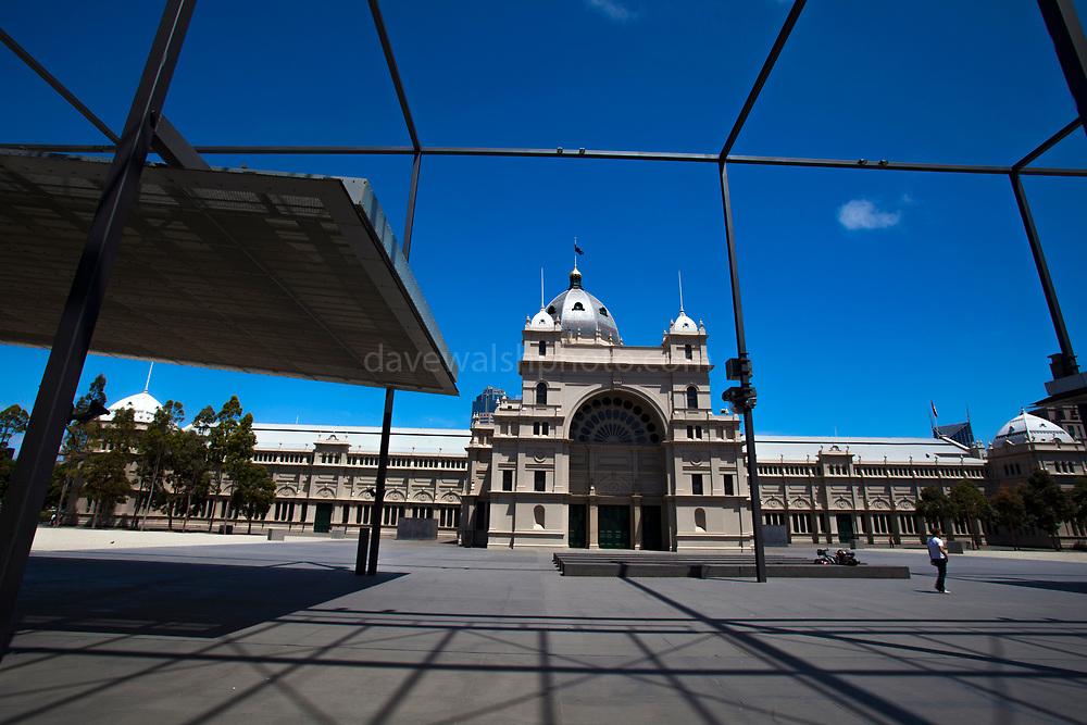 Royal Exhibition Building, Melbourne, Australia - the first building in Australia to achieve UNESCO World Heritage status.