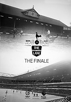 Football - 2016 / 2017 Premier League - Tottenham Hotspur vs. Manchester United<br /> <br /> The Official Programme cover for the Final game at White Hart Lane.<br /> <br /> COLORSPORT/ANDREW COWIE