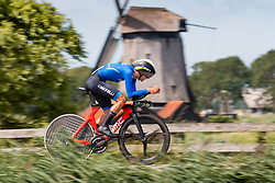 SOBRERO Matteo from ITALY during Men Under 23 Time Trial at 2019 UEC European Road Championships, Alkmaar, The Netherlands, 8 August 2019. <br /> <br /> Photo by Pim Nijland / PelotonPhotos.com <br /> <br /> All photos usage must carry mandatory copyright credit (Peloton Photos | Pim Nijland)