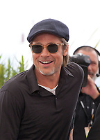 Brad Pitt at Once Upon A Time... In Holywood film photo call at the 72nd Cannes Film Festival, Wednesday 22nd May 2019, Cannes, France. Photo credit: Doreen Kennedy