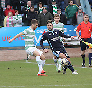 Dundee's Kostadin Gadzhalov  nicks the fall away from Celtic&rsquo;s Adam Matthews - Dundee v Celtic, William Hill Scottish Cup fifth round at Dens Park <br /> <br /> <br />  - &copy; David Young - www.davidyoungphoto.co.uk - email: davidyoungphoto@gmail.com