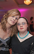 Catherine Flaherty, GMIT and Aíne Lynch Renmore  at the Ability WestBest Buddies ball at the Menlo Park Hotel, Galway. Photo:Andrew Downes Photography.