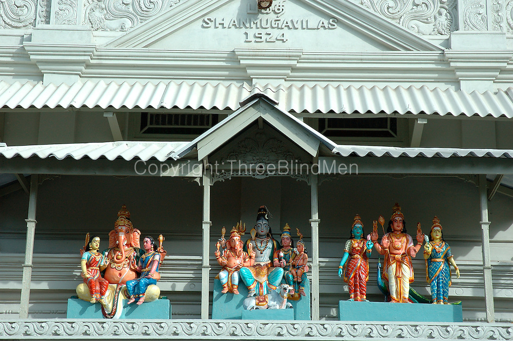 Hindu Kovil on Sea Street. Pettah. Colombo.