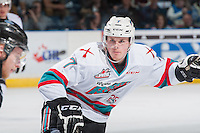KELOWNA, CANADA - APRIL 12: Lucas Johansen #7 of Kelowna Rockets skates against the Victoria Royals on April 12, 2016 at Prospera Place in Kelowna, British Columbia, Canada.  (Photo by Marissa Baecker/Shoot the Breeze)  *** Local Caption *** Lucas Johansen;