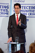© Licensed to London News Pictures. 19/07/2012. London, UK ED MILIBAND. Ed Miliband MP, Leader of the Labour Party, and Yvette Cooper MP, Labour's Shadow Home Secretary, hold a listening event on Thursday 19 July to discuss crime and policing issues ahead of the Police and Crime Commissioner elections in November.. Photo credit : Stephen Simpson/LNP