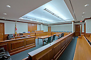 Courtroom, Prince Georges County Courthouse.