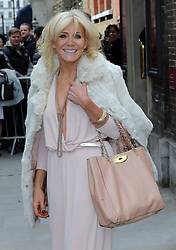 Michelle Collins arriving for the wedding of Coronation Street actress Helen Worth   at St.James's Church in Piccadilly, London, Saturday 6th   April 2013.  Photo by: Stephen Lock / i-Images