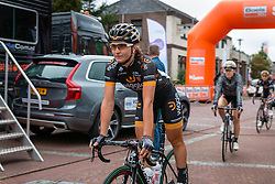 Elisa Longo Borghini of Wiggle Honda before the sign-on at the Holland Ladies Tour, Zeddam, Gelderland, The Netherlands, 1 September 2015.<br /> Photo: Pim Nijland / PelotonPhotos.com