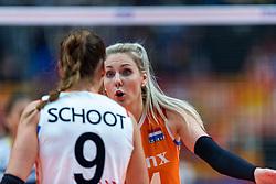 20-10-2018 JPN: Final World Championship Volleyball Women day 18, Yokohama<br /> China - Netherlands 3-0 / Laura Dijkema #14 of Netherlands