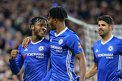 Goal, Michy Batshuayi of Chelsea scores from the penalty spot - Mandatory by-line: Jason Brown/JMP - 28/01/2017 - FOOTBALL - Stamford Bridge - London, England - Chelsea v Brentford - Emirates FA Cup fourth round