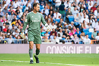 Real Madrid Legends Jerzy Dudek during Corazon Classic Match between Real Madrid Legends and Arsenal Legends at Santiago Bernabeu Stadium in Madrid, Spain. June 03, 2018. (ALTERPHOTOS/Borja B.Hojas)