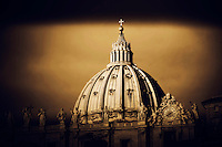 Dome of St. Peter's Basilica.
