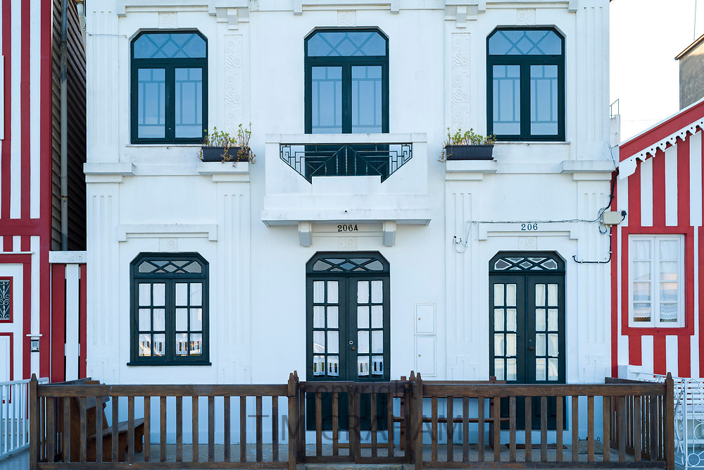 Elegant house in Costa Nova do Prado a village with many holiday homes near Aveiro,  Portugal