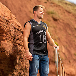 - Ryan Hiscott/JMP - 23/08/2018 - RUGBY - Exmouth Beach - Exeter, England - Exeter Chiefs Leisure Wear