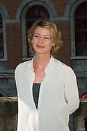 """Astrid Whettnall  lors du Photocall du jury """"Court Métrage"""" du Festival du Film Francophone, Namur le 03 octobre 2014 Belgique"""