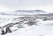 Hverfjall Northeast-Icelandl