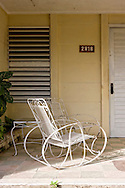 Porch in Bahia Honda, Artemisa, Cuba.