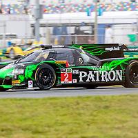 Daytona Beach, FL - Jan 22, 2014:  The Tudor United SportsCar Championship teams take to the track for a practice sessions for the Rolex 24 at Daytona International Speedway in Daytona Beach, FL.