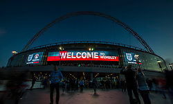 Welcome to Wembley - Mandatory byline: Jason Brown/JMP - 07966 386802 - 09/10/2015- FOOTBALL - Wembley Stadium - London, England - England v Estonia - Euro 2016 Qualifying - Group E