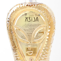 Alien Tequila anejo -- Image originally appeared in the Tequila Matchmaker: http://tequilamatchmaker.com