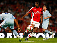 Gilles Sunu of Arsenal   FA Cup Youth Semi-Final 2nd Leg <br /> Arsenal Youth v Manchester City Youth at  Emirates Stadium London<br /> 22/04/2009. Credit Colorsport /  Kieran Galvin