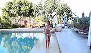 EXCLUSIVE<br />Sam Faires looking stunning in Bikini by the pool in Ibiza<br />©Exclusivepix Media