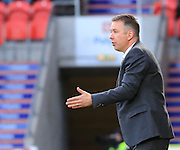 Darren Ferguson during the Sky Bet League 1 match between Doncaster Rovers and Rochdale at the Keepmoat Stadium, Doncaster, England on 21 November 2015. Photo by Daniel Youngs.