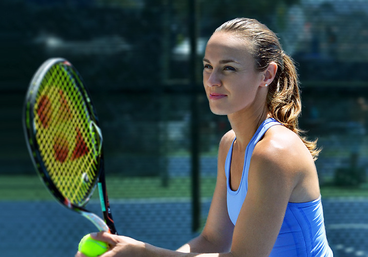 San Diego Fitness Photographer: Martina Hingis for Tonic Tennis at La Costa Spa. Southern California Open 2013.