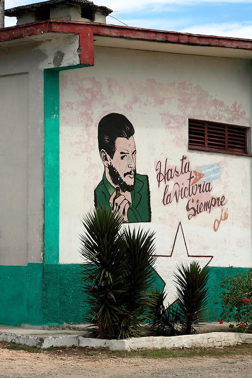 Che in Santa Cruz del Norte, Mayabeque, Cuba.
