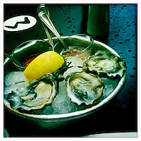 Oysters in St Helena California